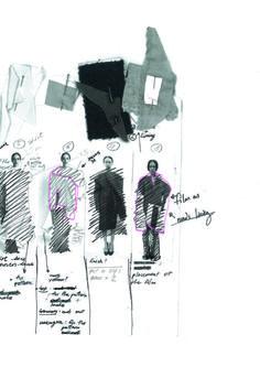 Fashion Sketchbook - fashion sketches; fashion design development; fashion portfolio // Masha Reva