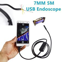 Combo of 1 Endoscope Waterproof Camera and 1 VR 3D Lens | Waterproof ...