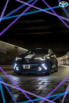 Did Beth O'Donoghue succeed in making hybrids cool with her modified Toyota C-HR? We think so! Click to find out more. #Toyota #ToyotaPeople #C-HR #CHR #ToyotaCHR #ToyotaC-HR #SUV #Modified #Cars #ModifiedCars #Crossover #CompactSUV #FamilySUV #NewCars #CarDesign #Purple #Blue #CarPhotography #Hybrid #HybridSUV Car Advertising, Advertising Design, Family Suv, Toyota Hybrid, Uk Magazines, Desi Girl Image, Toyota C Hr, Compact Suv, Zoom Call