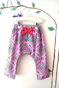 Baby Girl Bohemian Harem Pants