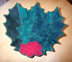 Holly Fabric Bowl