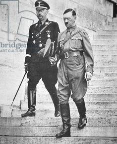 Hitler and Himmler at Nuremberg, 1938