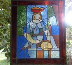 cubist, lady with fish