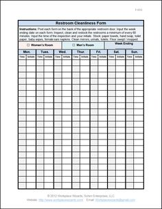 Kitchen Inventory Sheets | workplace-wizards-restaurant-food-and ...