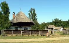 Thatch peasant house- Nyiregyhaza, Hungary