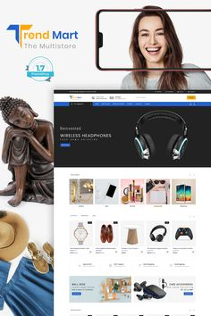 Furnimart The Best Furniture Store Template Computer Theme, Cool Furniture, Furniture Design, Beautiful Website Design, News Web Design, Ecommerce Website Design, Flower Food, Branding Your Business, Photoshop