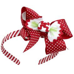 Our Rags Land Peppermint Twist Bow Headband! Shop NOW at www.ragsland.com