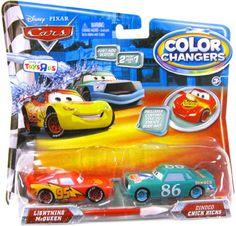 Disney / Pixar CARS Movie 155 Color Changers 2Pack Lightning McQueen Dinoco Chick Hicks Disnye Pixar http://www.amazon.com/dp/B0039CRNZG/ref=cm_sw_r_pi_dp_UltNwb03M2SEV