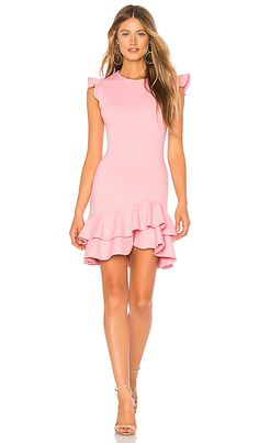 Shop for Susana Monaco Sleeveless Ruffle Hem Dress in Parfait at REVOLVE. Cocktail Bridesmaid Dresses, Long Cocktail Dress, Womens Cocktail Dresses, Party Dresses For Women, Ladies Dresses, Women's Fashion Dresses, Casual Dresses, Long Formal Gowns, Different Dresses