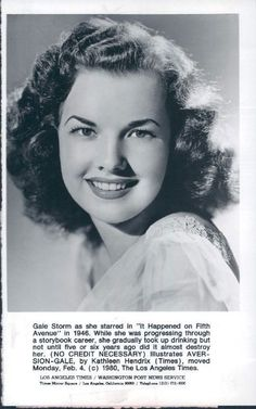 1000+ images about Gale Storm on Pinterest