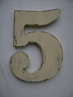 shabby chic numbers and letters from etsy uncle johns cabin