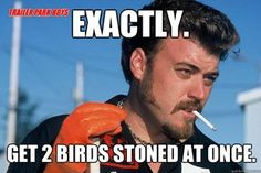 Ricky from Trailer Park Boys. LOVE THIS SHOW LOL