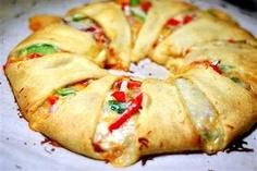 crescent roll pizza