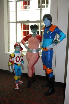 The family that cosplays together... is awesome!  Reboot cosplay - Imgur