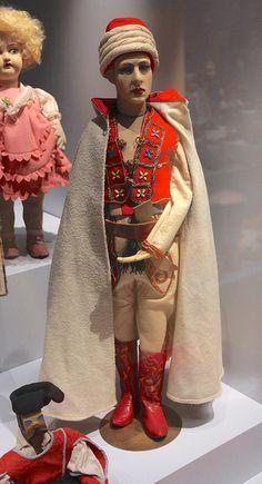 A Rudolph Valentino doll? by seethree, via Flickr