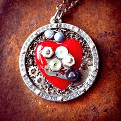 The Tin Man's Heart by ColdGarageCreations on Etsy