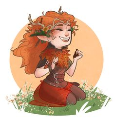 """Keyleth is so precious I love her ;A; she's all nervous and cute then she rips you apart with the snap of her fingers. #goals""    source: Tangled Up In Blue"