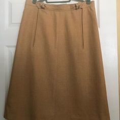 Courreges Skirts | Courrges Paris Sand Color Mod Spaceaged Skirt - Poshmark Space Age, Wool Skirts, Paris, Color, Vintage, Clothes, Beauty, Things To Sell, Fashion