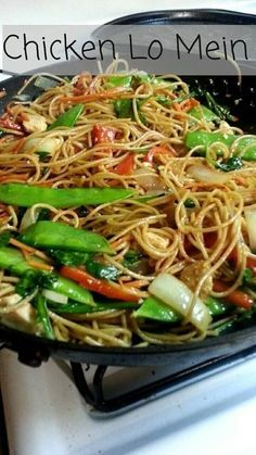 Chinese food made at home! This dish was so fast and easy, it is a great choice for a busy weeknight dinner. Chicken Lo Mein - Chinese food made at home! This dish was so fast and easy, it is a great choice for a busy weeknight dinner. Chinese Chicken Recipes, Easy Chinese Recipes, Chicken Lo Mein Recipe Healthy, Homemade Chinese Food, Shrimp Lo Mein Recipe, Chicken Chow Mein, Chicken Teriyaki Recipe, Cashew Chicken, Orange Chicken