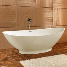Aquatica PureScape 621M AquaStone™ Freestanding Soaking Bathtub - Fixture Universe