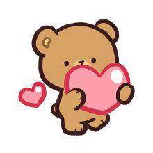 Mocha daily life emoji set is now here! Perfect for cool and calm one, just like Mocha! Emoji Drawings, Cute Bear Drawings, Cute Couple Cartoon, Cute Love Cartoons, Cute Love Gif, Cute Love Memes, Kawaii Love, Teddy Bear Drawing, Bear Gif