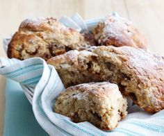 These beautiful scones are packed full of sweet dates, bananas and walnuts. They're perfect for the kids lunches, or with cream at any afternoon tea.