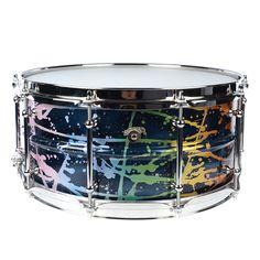 Joyful Noise 6.5x14 Luminary Aluminum Snare Drum Multi-Color