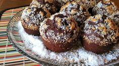 Fehérjés muffin kókuszimádóknak Coconut Muffins, Protein, Paleo, Snacks, Cookies, Chocolate, Baking, Breakfast, Recipes