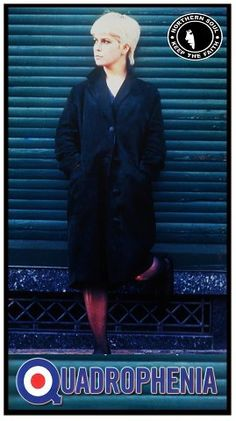 Toyah Willcox in Quadrophenia My Babysitter, Fred Perry Polo, Fishtail Parka, Mod Look, Mod Scooter, Mod Girl, Actor Studio, Northern Soul, Skinhead