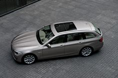 F11 BMW 5-series Touring in Kashmere Silver