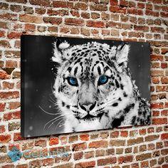 Mavi Gözlü Kaplan Tablo #hayvan_tabloları