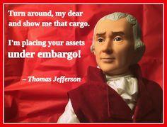 Presidential Valentines - Thomas Jefferson