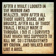 Put your crown on!