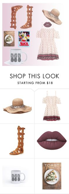 """""""Summer Reads"""" by mydesignplace on Polyvore featuring H&M, KG Kurt Geiger, Lime Crime, PHAIDON and Olympia Le-Tan"""