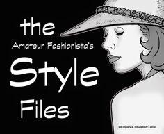 elegance revisited: Style Files http://elegance-revisited.com