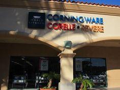Corningware, Corelle, Revere, Camarillo Outlets