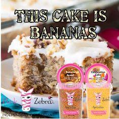 What Is Pink Zebra, Pink Zebra Home, Pink Zebra Facebook Party, Pink Zebra Consultant, Sprinkles Recipe, Pink Zebra Sprinkles, Smell Good, Banana, Cake