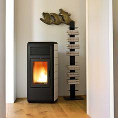 pelletkachel MCZ Nima met luchtkanalen - ca. Stove, Home Appliances, Design, House Appliances, Range, Appliances, Hearth Pad, Kitchen