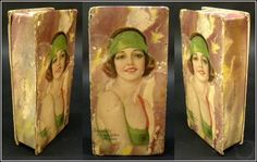 1920's Vintage Ireland's Chocolates, St. Louis Chocolate Box with Flapper Girl! #IrelandsChocolates