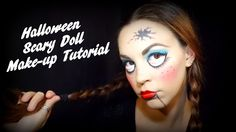Tutorial: Halloween SCARY DOLL make-up!