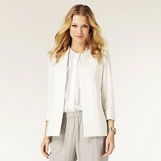 Soft Tailored Jacket | The White Company