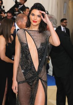 All The Looks From The 2017 Met Gala. Kendall Jenner