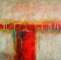 Quiero pintar algo así!!!! Surrender - Original Abstract Acrylic Modern Art Contemporary Painting by Filomena de Andrade Texas Contemporary Artist, painting by artist Filomena Booth