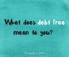 Learn what options you have for getting out of debt and becoming debt free.