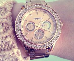 Wrist watch for women, happy sexy weekend #fossil -Watches and bracelets