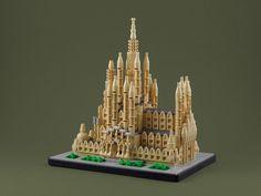 Sagrada Familia mode LEGO Architecture #legoarchitecture