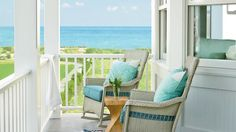 1. Ultimate Beach House Front Porch