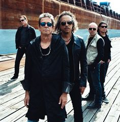 Metallica and Lou Reed by Anton Corbijn