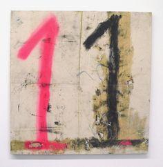 "Oscar Murillo ""Number 11 (bingo painting)"", 2012"