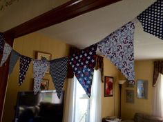Bunting for Anchor and Nautical themed party